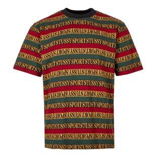 Stussy Stripe T-Shirt | 1140162 Black