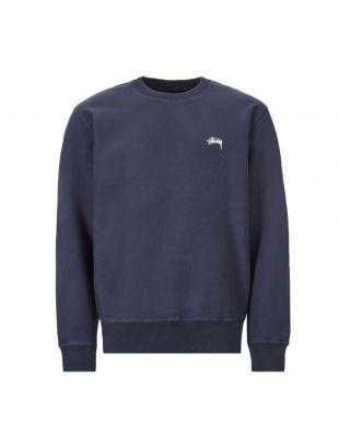 stussy sweatshirt | 118363 NVY navy