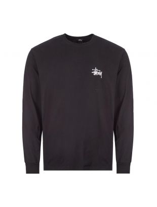 Long Sleeve T-Shirt Basic Logo - Black