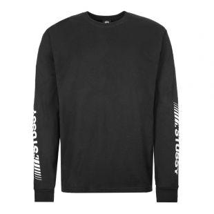Stussy Long Sleeve T-Shirt Champion 1994419 BLK Black