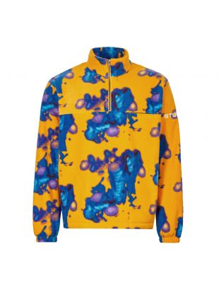 Stussy Fleece | 118372 TIE Mustard / Blue / Purple