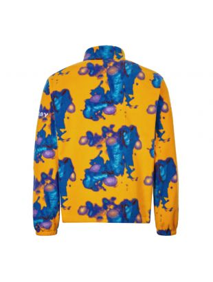 Fleece - Mustard / Blue / Purple