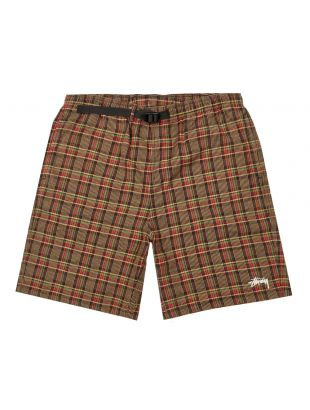 stussy mountain shorts 112252 plaid