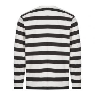 Long Sleeve T-Shirt Printed Stripe - Black / White