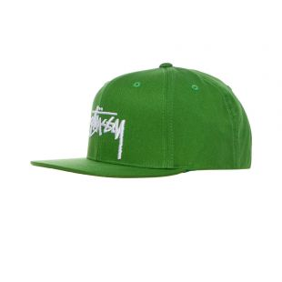 stussy cap stock |131934 GRN green