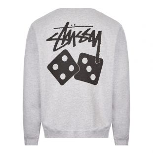 Sweatshirt Dice - Ash Heather