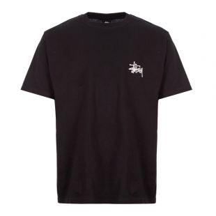 Stussy T-Shirt Basic | 1904464 BLK Black