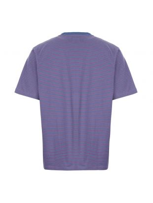 T-Shirt Mini Stripe - Blue / Pink