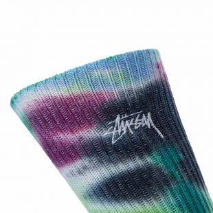 Socks - Blue Tie Dye