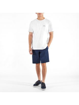 Athleisure T-Shirt Curved - White