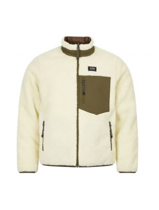 Taion Reversible Jacket | TAION R102MB Olive / Ivory