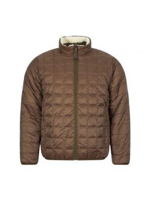 Reversible Jacket - Olive / Ivory