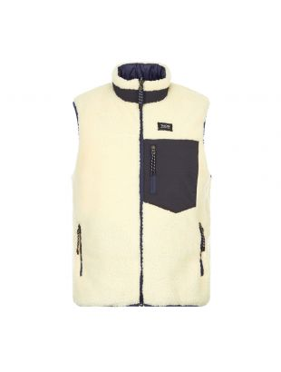 Taion Reversible Gilet   TAION R002MB Navy / Ivory
