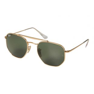 Ray Ban Sunglasses | RB3648 001 54 Gold / Green