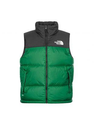 1996 Retro Nuptse Vest - Evergreen