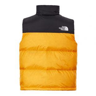 Nuptse Vest - Yellow