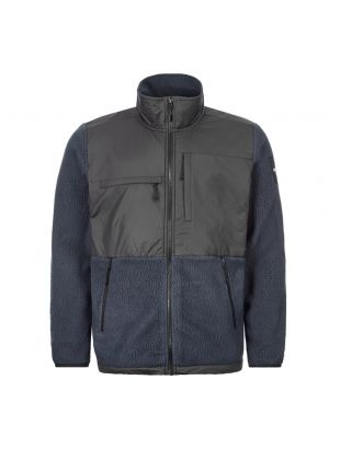the north face denali fleece jacket NF0A38 1MM8U 1003 navy