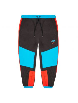 the north face extreme sweatpants NF0A4GLCBG red black blue