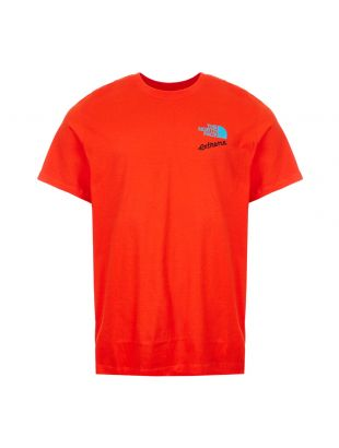 the north face extreme t-shirt NF0A4AA155O red