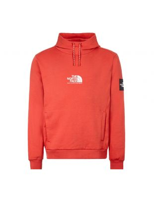 The North Face Hoodie | NF0A3XY3PKB Red