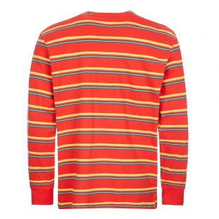 Long Sleeve T Shirt Boruda - Fiery Red
