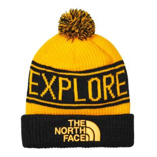 The North Face Hat | NF0A3FMPLR0 Yellow / Black