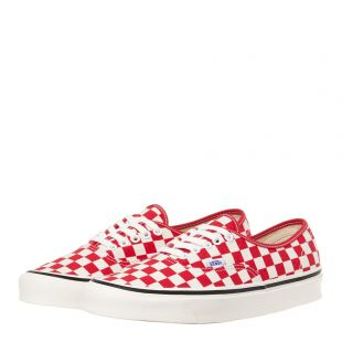 Authentic Trainers - Red Checkerboard