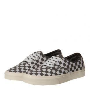 Authentic Trainers - Checkerboard Grey