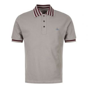 Vivienne Westwood Polo Shirt S25GL0025 S23142 858 In Grey