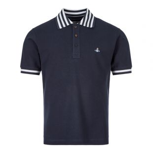 Vivienne Westwood Polo Shirt S25GL0025 S23142 524 In Navy
