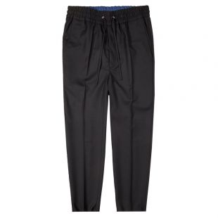 Drawstring Trousers - Black