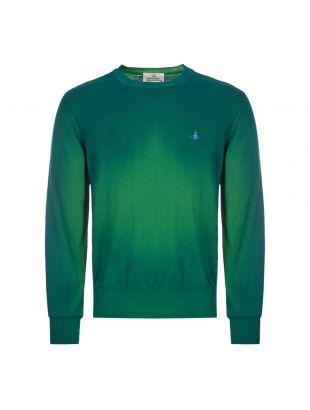 vivienne westwood sweatshirt crew neck | S25HA0455 S17230 556M green