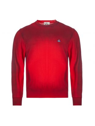 vivienne westwood sweatshirt crew neck | S25HA0455 S17230 254M red