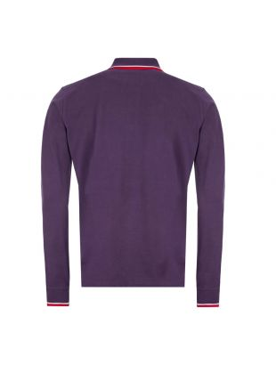 Long Sleeve Polo Shirt – Purple
