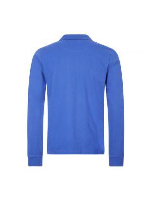 Long Sleeve Polo Shirt - Blue