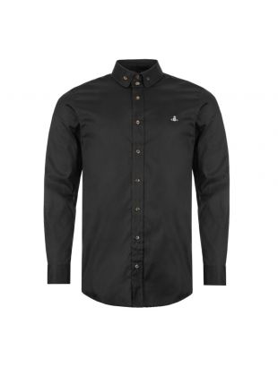 Vivienne Westwood Shirt Button Down | S25DL0487 S48869 900 Black |