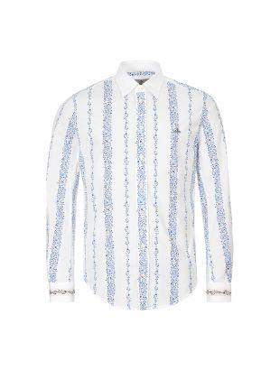 Vivienne Westwood Shirt | S25DL0489 S52620 001S White / Blue
