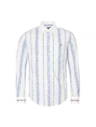 Shirt – White / Blue