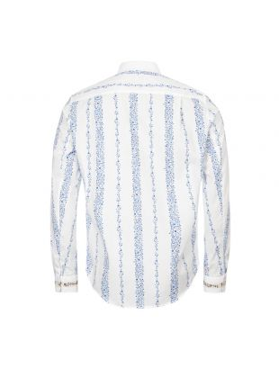 Shirt – White / Blue