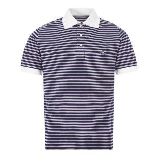 Vivienne Westwood Polo Shirt | S25GL0050 S23619 002F Navy Stripe