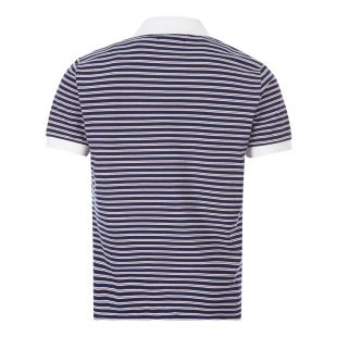 Polo Shirt - Navy Stripe