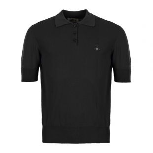 Vivienne Westwood Polo Shirt | S25HA0408 S16642 900 Black