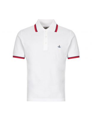 vivienne westwood polo shirt S25GL0047 S23142 100 white