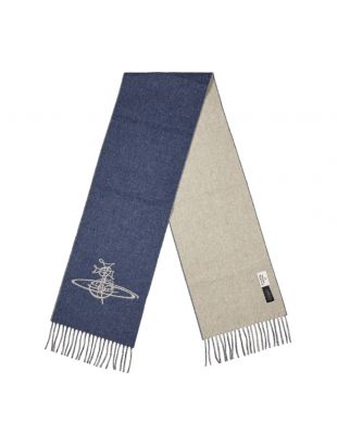 Scarf - Denim Blue