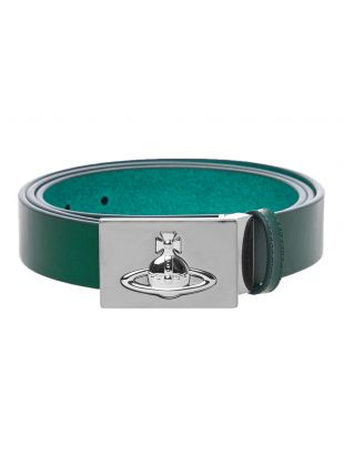 Vivienne Westwood Belt Square Buckle | 82010001 40148 M402 Green