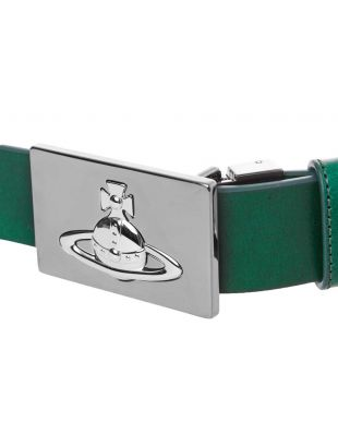 Belt Square Buckle - Green
