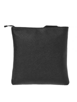 Square Crossbody Bag - Black
