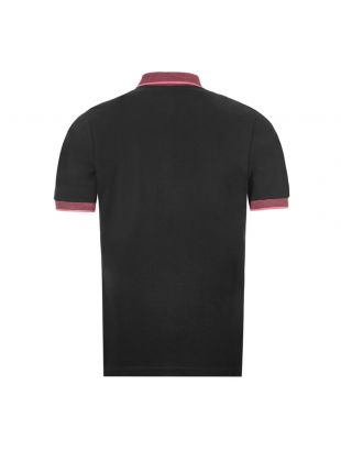 Polo Shirt - Black / Pink