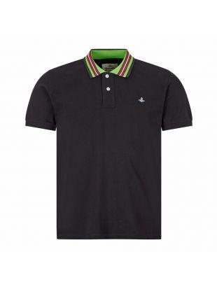 Vivienne Westwood Polo Shirt , 26010026 21681 N401 Black , Aphrodite 1994