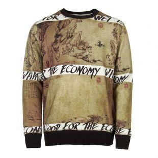 Vivienne Westwood Sweatshirt   S25GU0110 S25406 003S Green / Black